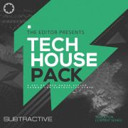 The Editor Presents Tech House Sound Pack (for Subtractive)